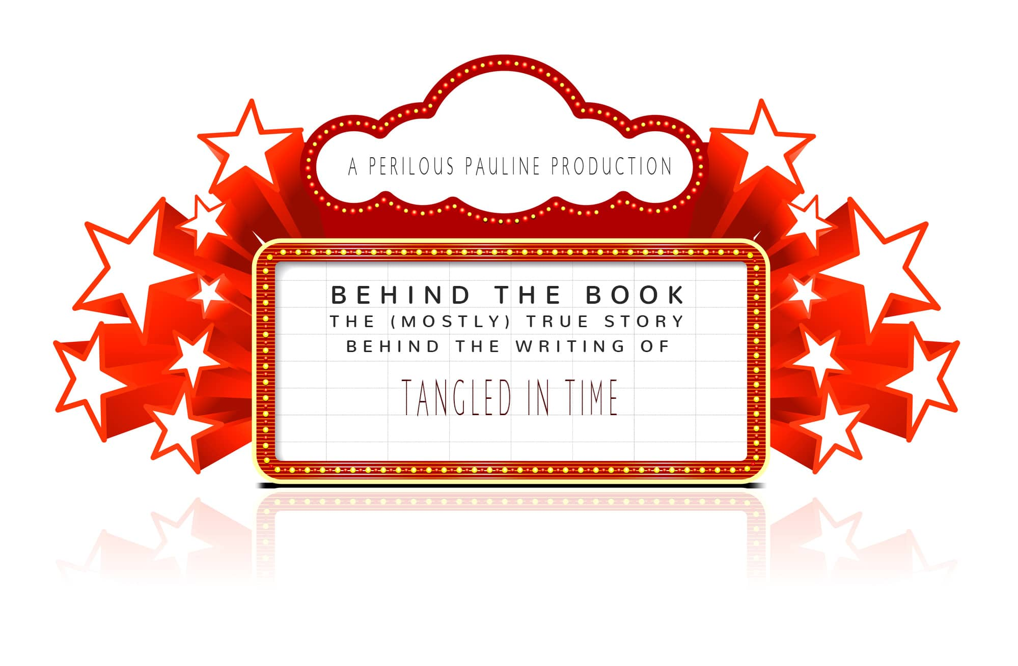 Tt behind the book marquee