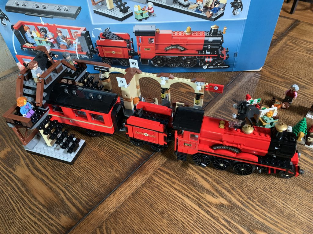 Lego Harry Potter train