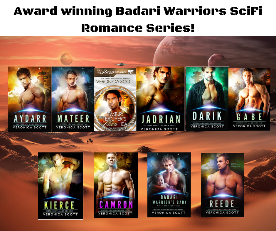 Award winning Badari Warriors SciFi Romance Series! (1)