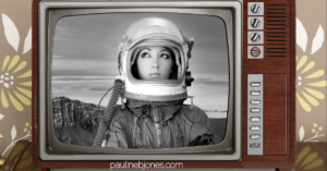 space lady on tv